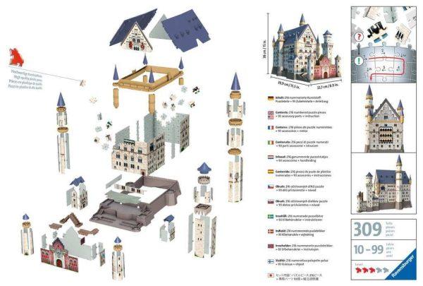 Casse-tête 3D - Château de Neuschwanstein