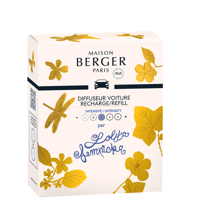 Maison Berger - Parfum Lolita Lempicka recharge x2 pour Diffuseur de Voiture
