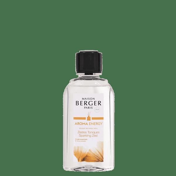 Maison Berger - Parfum Zestes Toniques recharge pour Bouquet 200ml