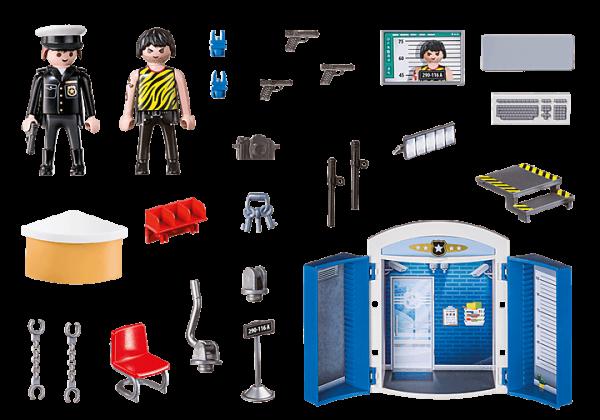 Playmobil City Action - Coffre Commissariat de Police # 70306