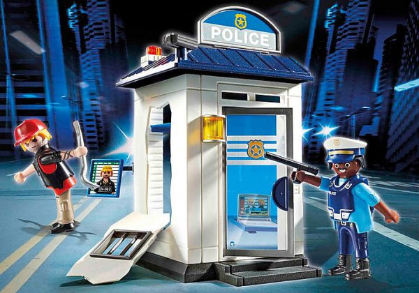 Playmobil City Action - StarterPack Bureau de Police # 70498