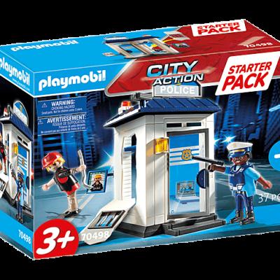 Playmobil City Action - StarterPack Bureau de Police # 70498