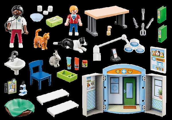 Playmobil City Life - Coffre Vétérinaire # 70309