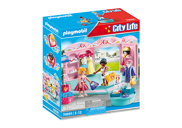 Playmobil City Life - Boutique de Mode # 70591