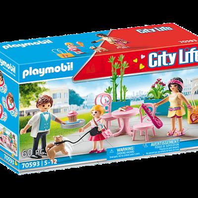 Playmobil City Life - Espace Café # 70593