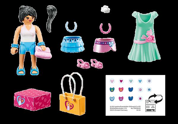 Playmobil City Life - Jeune Fille Stylée # 70596
