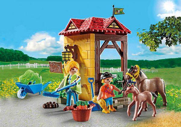Playmobil Country - StarterPack Box et Poneys # 70501