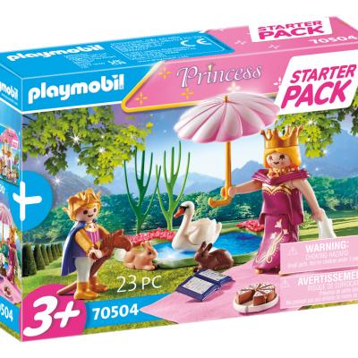 Playmobil Princess - StarterPack Reine et Enfant # 70504