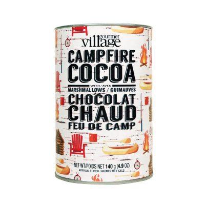 Gourmet Village - Boîte de chocolat chaud feu de camp 140 g (4,9 oz)