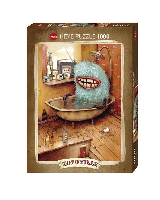 Casse-tête HEYE 1000 pièces Zozoville - Bathtub