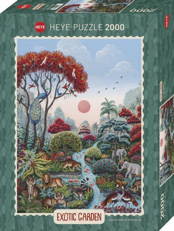 Casse-tête HEYE 2000 pièces - Paradis de la Faune