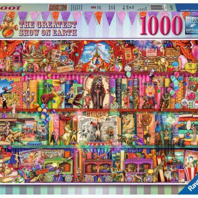 Casse-tête Ravensburger - Le plus grand spectacle sur terre 1000 mcx