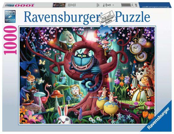 Casse-tête Ravensburger - Tout le monde est fou ici 1000 mcx