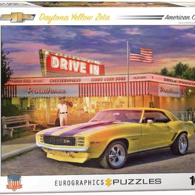 Casse-tête 1000 pièces - Daytona Yellow Zeta