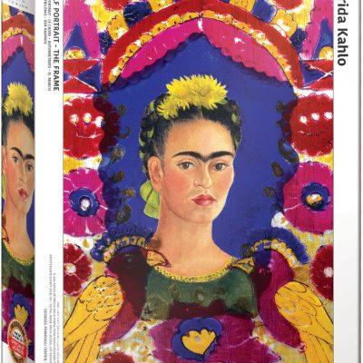 Casse-tête 1000 pièces - Frida Kahlo - Autoportrait - Le Cadre