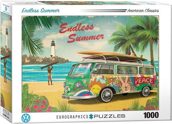 Casse-tête 1000 pièces Volkswagen Un été sans fin