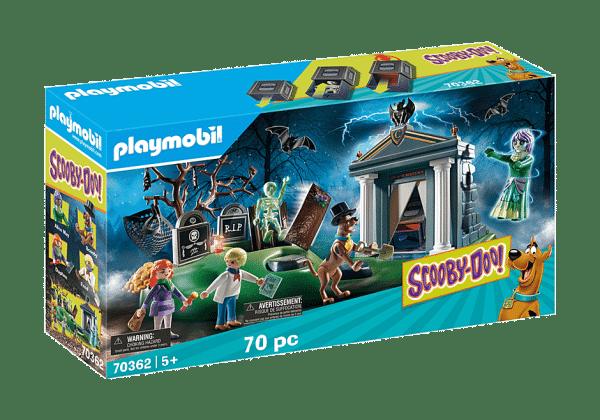Playmobil Scooby-Doo – Histoires au Cimetière # 70362