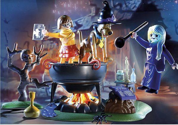 Playmobil Scooby-Doo – Histoires dans le Chaudron # 70366