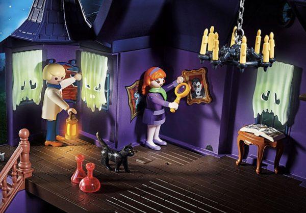 Playmobil Scooby-Doo – Histoires dans le Manoir Hanté # 70361