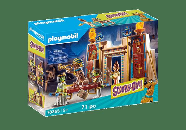 Playmobil Scooby-Doo – Histoires en Égypte # 70365