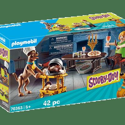 Playmobil Scooby-Doo – Salle de diner avec Sammy # 70363