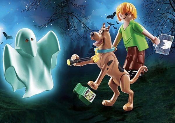 Playmobil Scooby-Doo – Scooby et Sammy avec fantôme # 70287