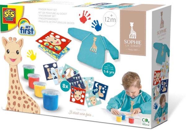Sophie la GirafeSES – Kit de peinture au doigt