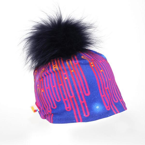 Tuque Blue Loops avec pompon amovible - Taille S