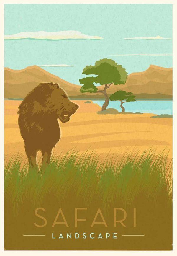 Casse-tête Ravensburger - Safari 99 mcx