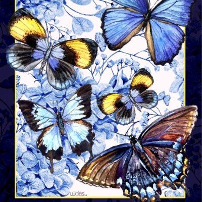 Drapeau - C'est une Belle Journée qui Papillonne 28'' x 40''