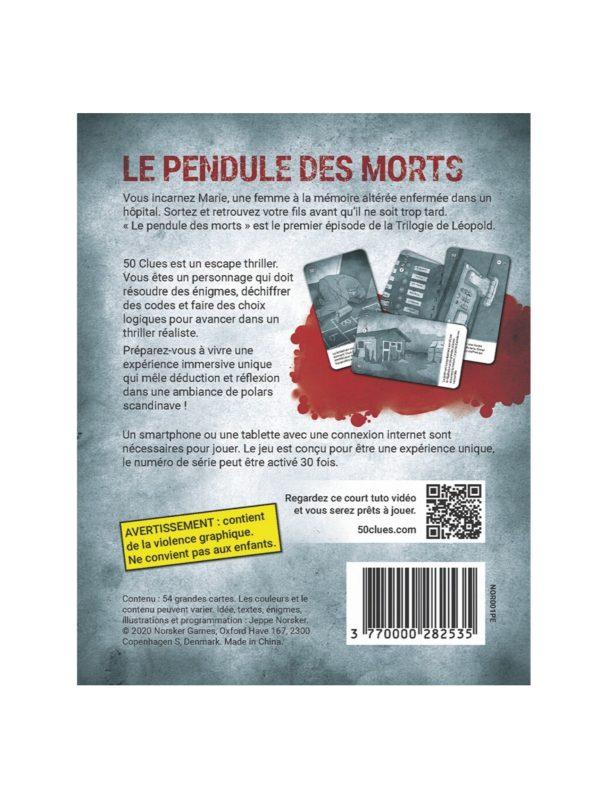 50 Clues : Le Pendule des morts 1/3