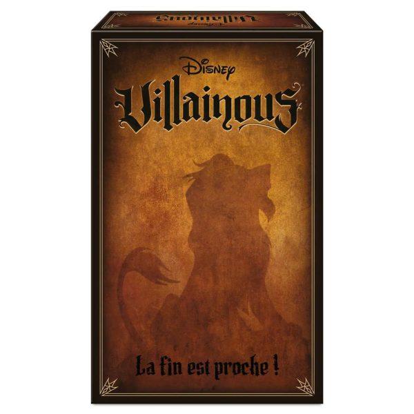Jeu Villainous - Extension 2 : La Fin est Proche !