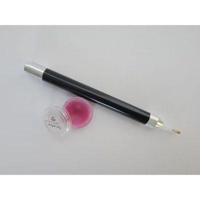 Jacarou - Kit Stylet lumineux Noir pour Broderie de Diamants et Cire parfumée