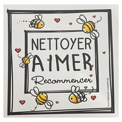 Linge aux Super-Pouvoirs - Nettoyer Aimer Recommencer