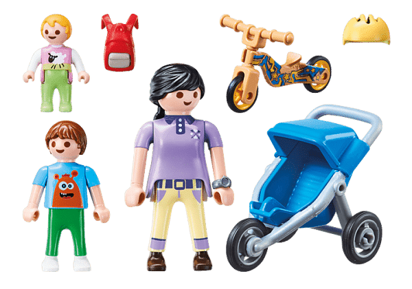 Playmobil City Life - Maman avec Enfants # 70284