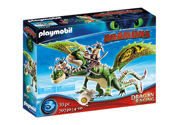 Playmobil Dragons - Kognedur et Kranedur avec Pète et Prout # 70730
