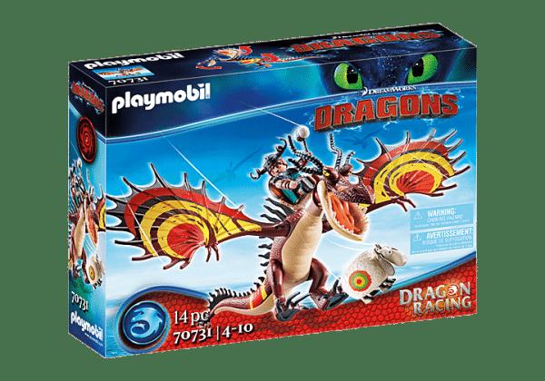 Playmobil Dragons - Rustik et Krochefer # 70731