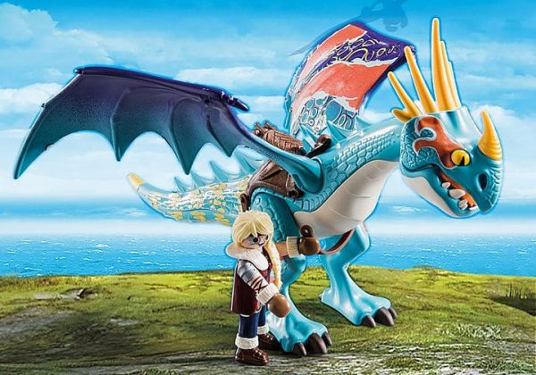 Playmobil Dragons - Astrid et Tempête # 70728
