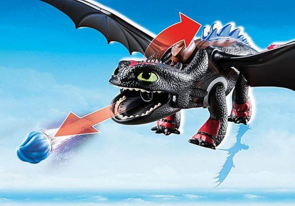 Playmobil Dragons - Krokmou et Harold # 70727