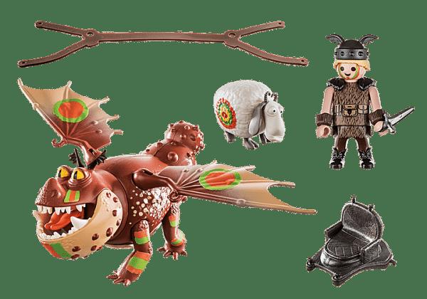 Playmobil Dragons - Varek et Bouledogre # 70729