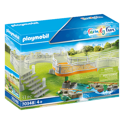 Playmobil Family Fun - Extension pour parc Animalier # 70348