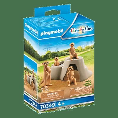 Playmobil Family Fun - Suricates et Rocher # 70349