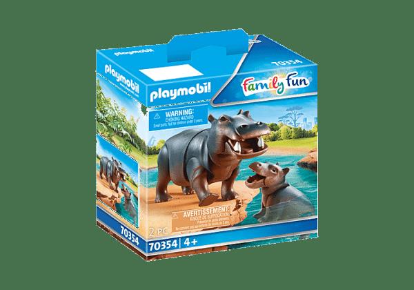 Playmobil Family Fun - Hippopotame et son petit # 70354