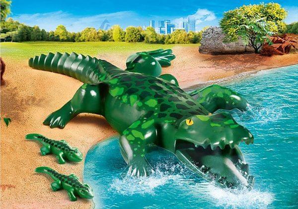Playmobil Family Fun - Alligator avec ses petits # 70358