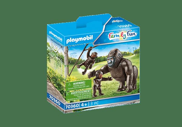 Playmobil Family Fun - Gorille avec ses petits # 70360
