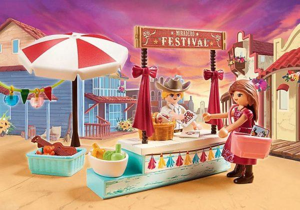 Playmobil Spirit - Festival de Miradero # 70694
