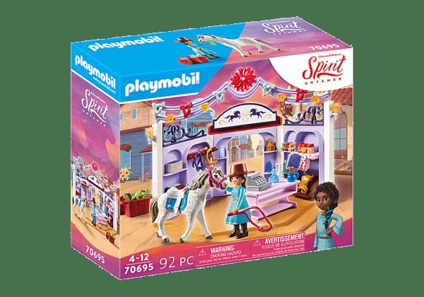 Playmobil Spirit - Boutique d'Équitation de Miradero # 70695