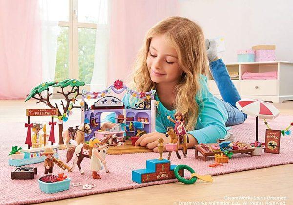 Playmobil Spirit - Étal de Friandises de Miradero # 70696