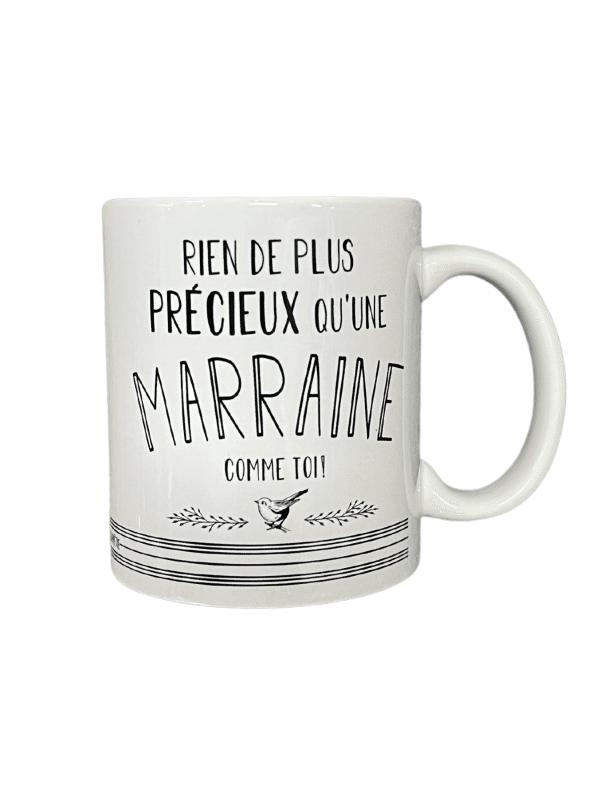 Tasse - Rien de plus précieux qu'une marraine comme toi