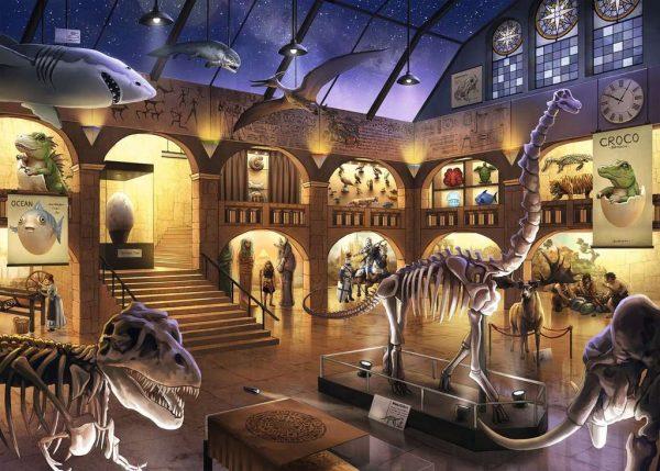 Casse-tête Escape Puzzle - Le Musée d'Histoire Naturel - 368 mcx